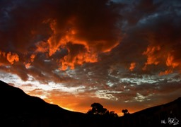 Fire Hout Bay Ike Moriz Photography Cape Town South Africa Art