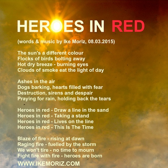 heroesinred lyrics