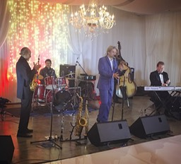 TOP WEDDING SINGER sextet at Molenvliet Estate Stellenbosch swing 2017 Ike Moriz jazz pop latin band entertainment live Cape Town South Africa