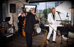 Ike Moriz Top Wedding Singer Cartel Rooftop bar Cape Town entertainment band swing jazz latin quintet south africa