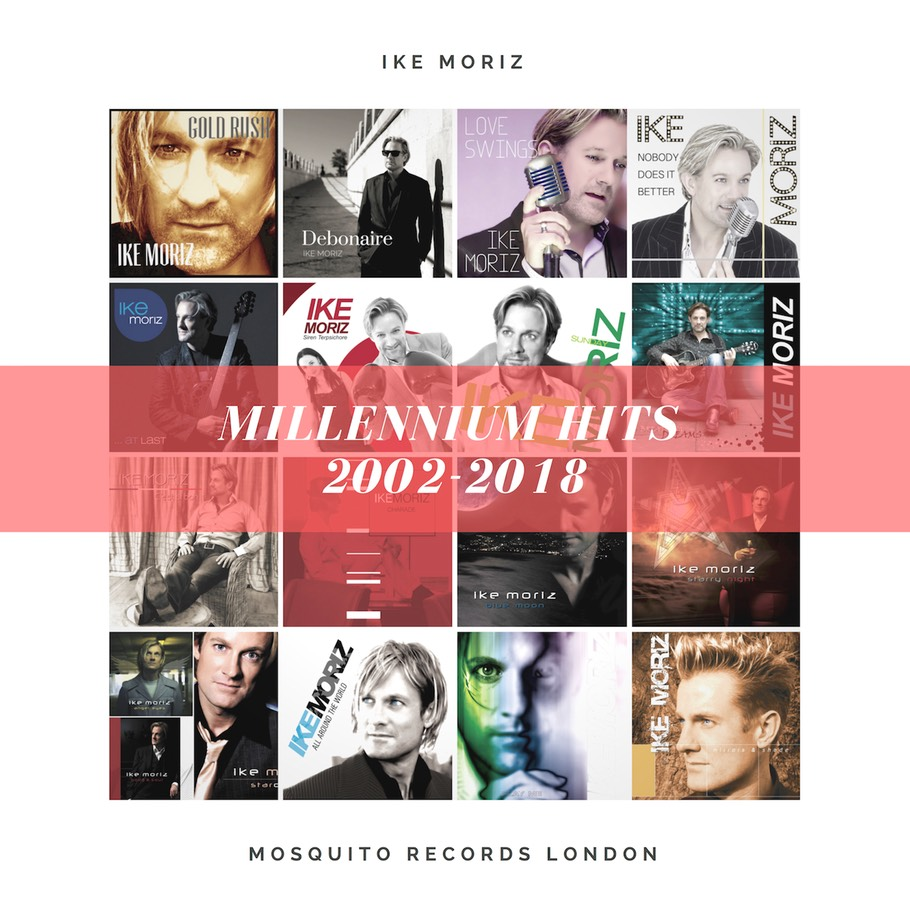 Millennium Hits 2002-2018 Ike Moriz best of CD album pop swing rock jazz easy listening South Africa Cape Town tour blues